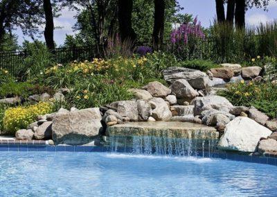 backyard pool design landscaping dry ridge ky